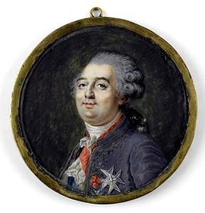 Portret van Louis  XVI de Bourbon (1754-1793)