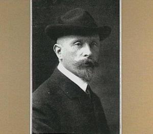 Portret van de schilder Co Breman