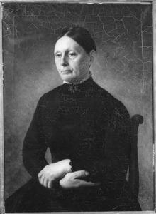 Portret van mevrouw Janzen