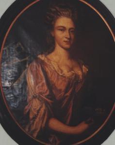 Portret van Emerentia Schrevelius (1679-1746)