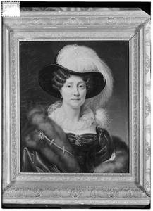 Portret van Johanna Philippina Hermanna van Dedem (1772-1860)