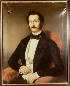 Portret van Jules Edouard Godin de Pesters (1811-1898)