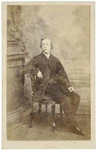 Portret van Jacob de Vries
