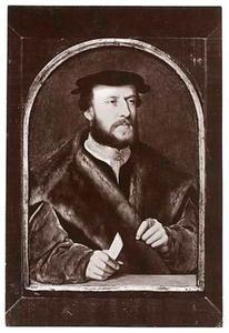 Portret van Jacobus Omphalius, gehuwd met Elisabeth Bellinghausen