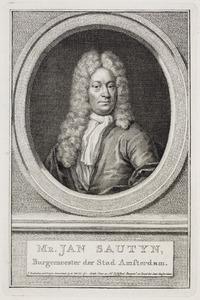 Portret van Jan Sautijn ( -1750)