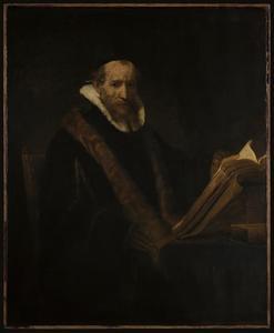 Een geleerde voor zijn schrijtafel