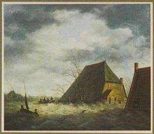 Overstroming van de Kleine Meente