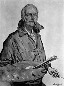 Zelfportret van Willem Dooijewaard (1892-1980)