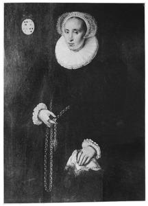 Portret van Volckera Claesdr. Knobbert (1554-1634)