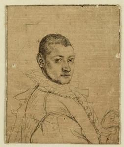 Portret van Cornelis Cornelisz. van Haarlem (1562-1638)