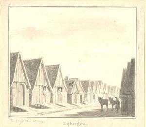 Eibergen, gezicht in het dorp