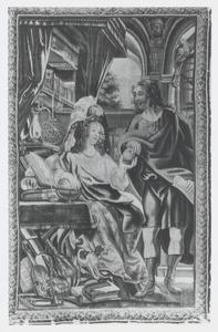 Eudocia geeft de appel door aan Paulinus