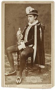 Portret van Jan Karel Hendrik Turk (1861-1908) als Roland de Vicq