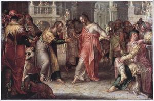 Jezus, de Farizeeërs en de cijnspenning van Caesar (Mattheüs 22:15-22; Marcus 12:13-17; Lucas 20:20-26)