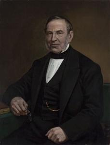Portret van Hendrik Willem Adriaan van Oordt (1808-1884)