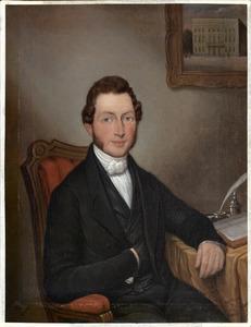 Portret van Johannes de Leur (1807-1878)