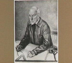 Portret van de kunstenaar/architect Dr. Hendrik Petrus Berlage (1856-1934)