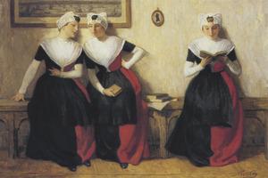 Drie Amsterdamse weesmeisjes