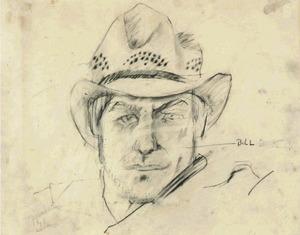 Portret van Willem de Kooning (1904-1997)