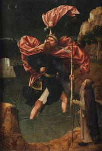 Heilige Chirstoforus en Heilige Antonius