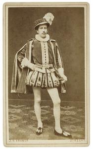 Portret van Willem van der Beke Callenfels (1859-1940) als Jean de Mol