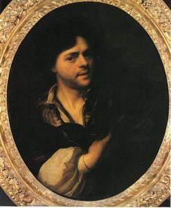 Zelfportret van Carel de Moor (1656-1738)