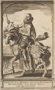 Ruiterportret van Ernst van Habsburg (1553-1595)