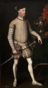 Portret van Maximiliaan II van Habsburg (1527-1576)