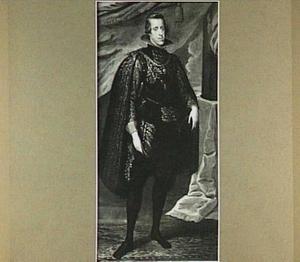 Portret van Philips IV, koning van Spanje