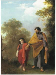 Jozef met het kind Jezus