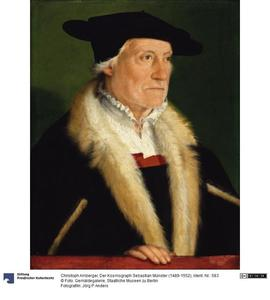 Portret van Sebastian Münster (1489-1552)