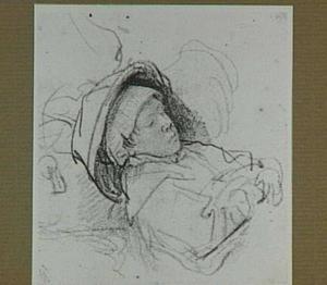 Slapend meisje