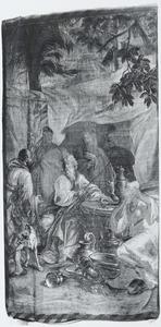 De offerande van de vrouwen voor de bouw van het Tabernakel