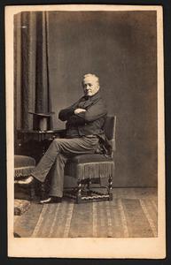 Portret van Hendrik Anthony Cornelis Chais van Buren (1800-1862)