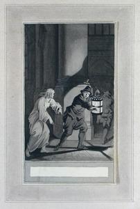 Illustratie bij 'Crispijn en Crispine' uit de Fabelen en vertelsels van F.C. Gellert
