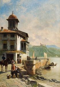 Huis met kade aan  bergmeer