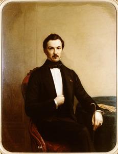 Portret van Willem Gerrit van de Poll (1825-1857)