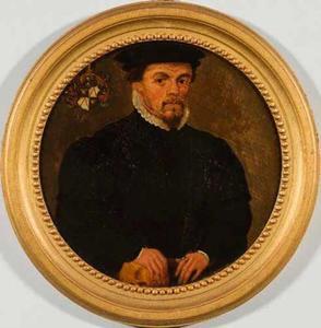 Portret van Antoine Balestel (....-1604)