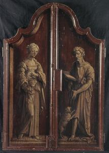De HH. Maria Magdalena en Rochus