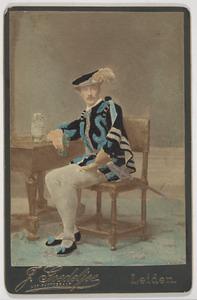 Portret van Johannes Aegidius Adolph Lisman (1864-1938)