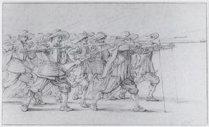 Compagnie van lansiers en musketiers