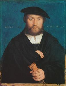 Portret van Hermann Hillebrandt Wedigh