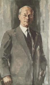 Portret van Arnold Hugo Ingen Housz (1888- )