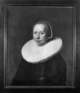 Portret van Catharina van Ruijtenburgh (....1645)