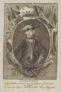 Portret van kolonel Totleben (....-....)