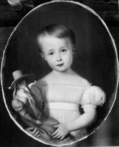 Portret van Sophie van Oranje-Nassau (1824-1897)