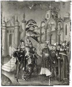De H. Catharina in dispuut met de filosofen