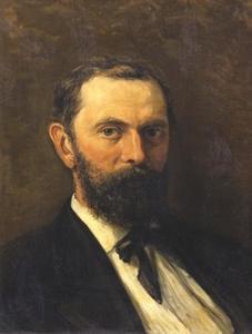 Portret van Samuel van Houten (1837-1930)