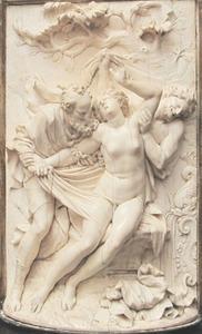 Suzanna belaagd door de ouderlingen (Daniel 13)