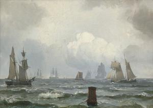Zeilschepen op zee